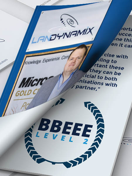 LanDynamix achieves level 2 BEE certification